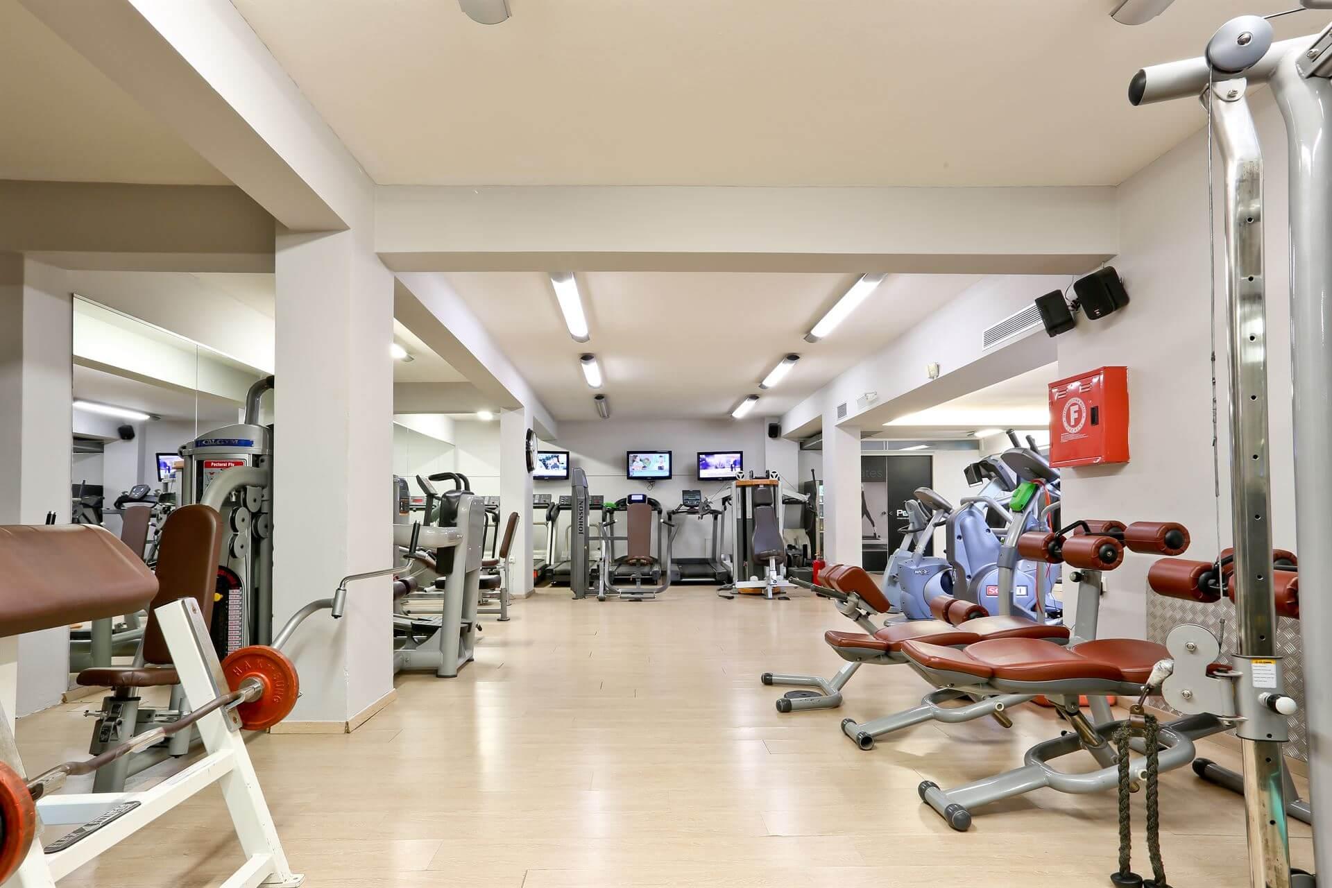 polis gym background