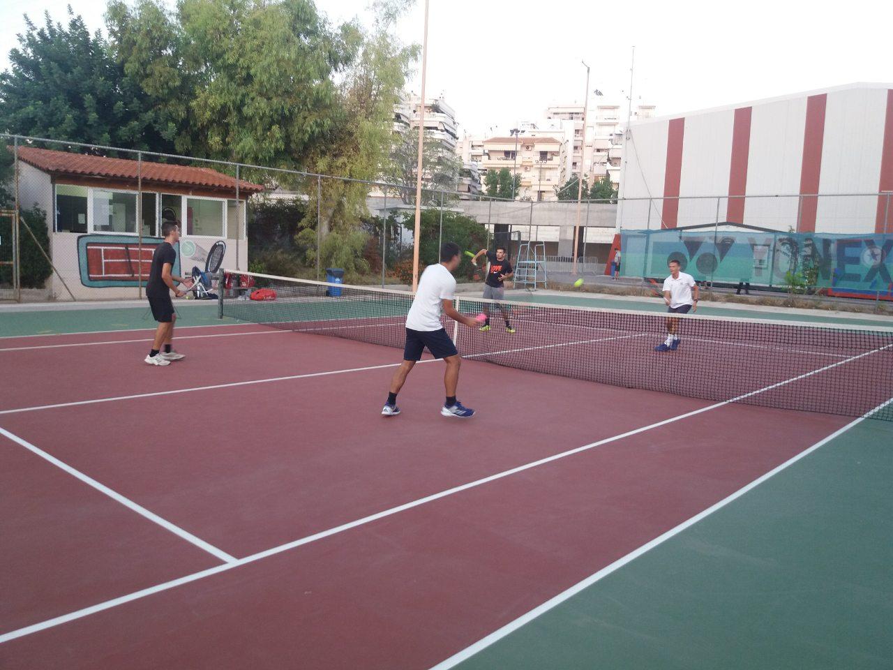 Τένις Αθλητικός Σύλλογος Εκπαιδευτικών Θησέας Αγίου Δημητρίου