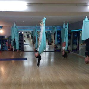 Aerial Yoga Axion Place Βύρωνας