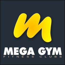 mega gym logo