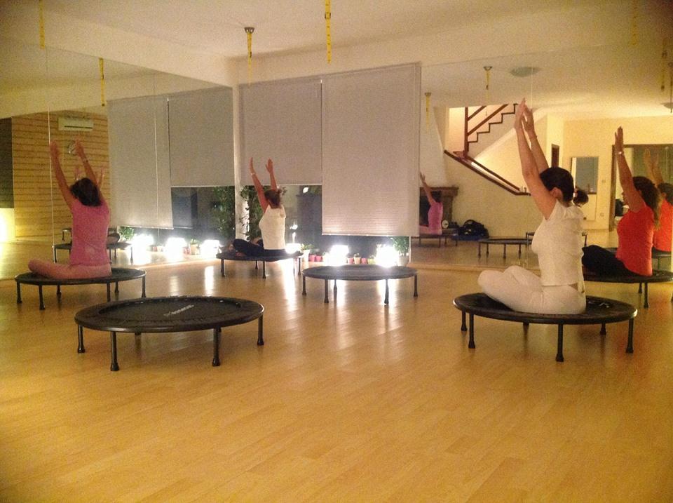 pilates trampolino khfisia