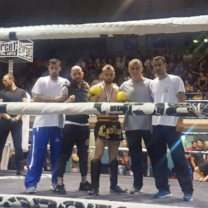 Kick Boxing Α.Σ. Περιστερίου - Κυριάκος Παρασίδης